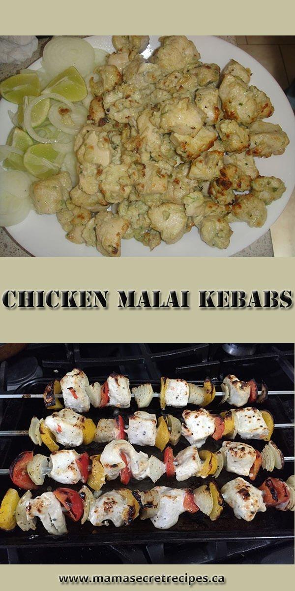 malai chicken kebabs