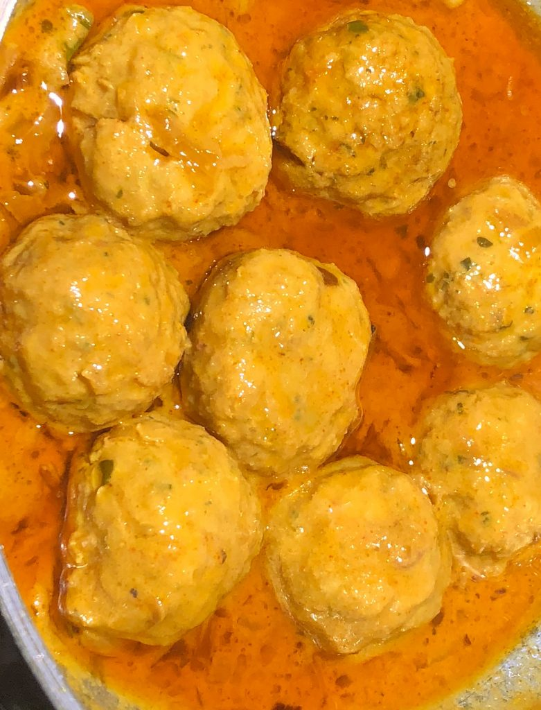 shrimp kofta curry