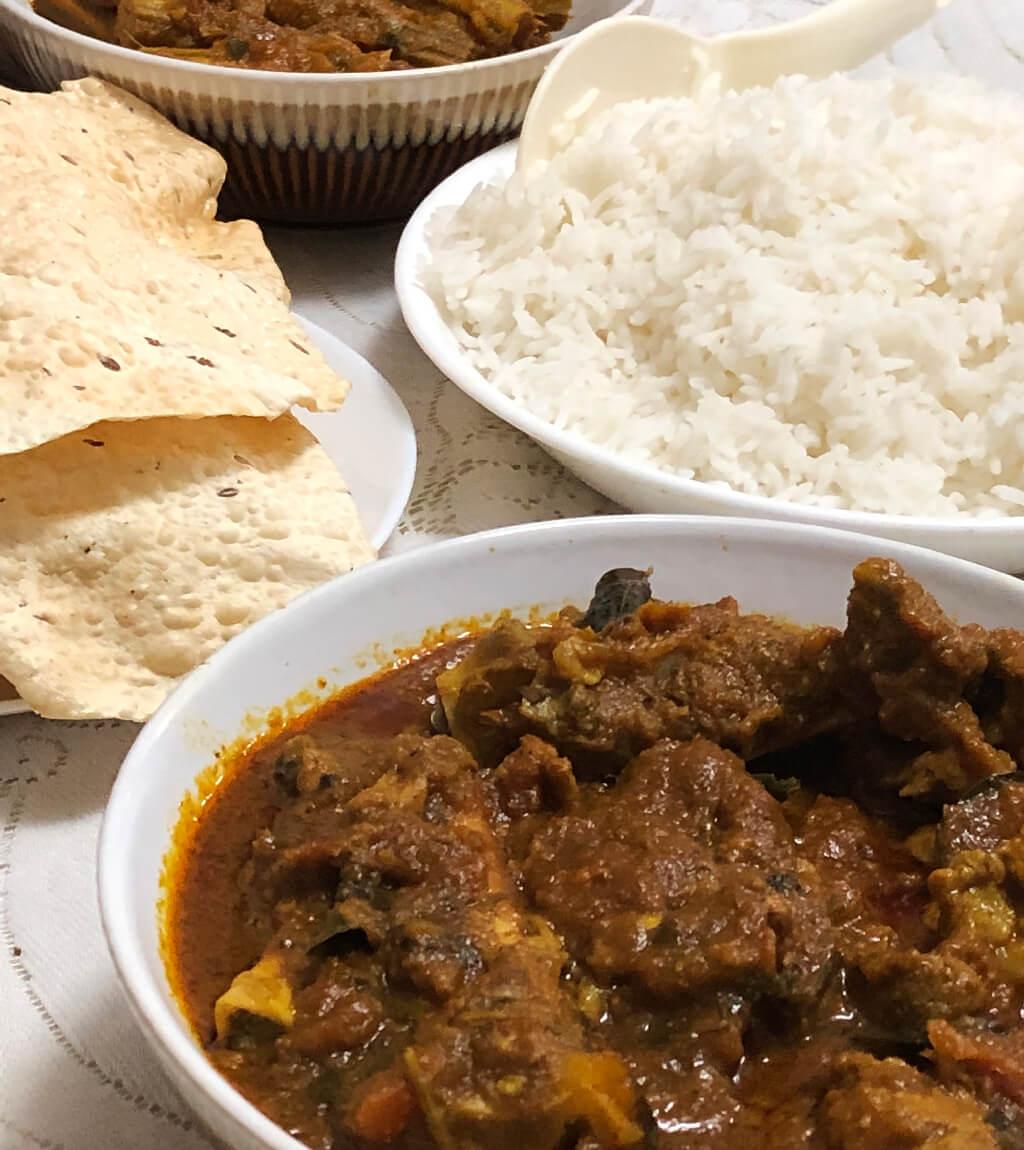 lamb khalia meal
