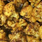 cauliflower pepper fry