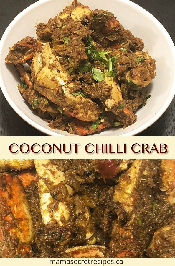 coconut chilli crab